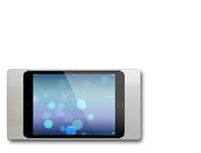 sdock.ru Стойка для планшета, держатель планшета sdock купить москва sDock mini Fix фиксированное настенное крепление iPad mini 2, 3
