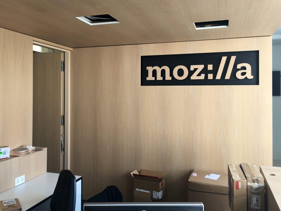 Система бронирования переговорных в офисе Mozilla