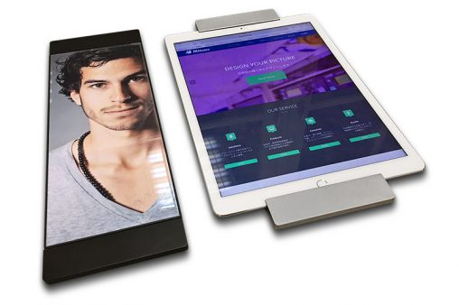 sDock Pro — поворотное настенное крепление планшета Apple iPad Pro