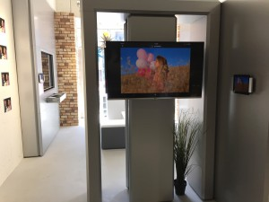 sDock iPad wallmount Light Field Museum in Tokyo 2788