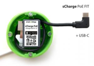 s28C sCharge PoE FIT USB-C