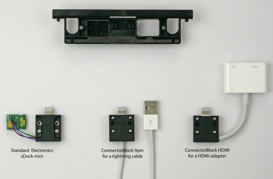 sDock держатель планшета connector block переходник hdmi