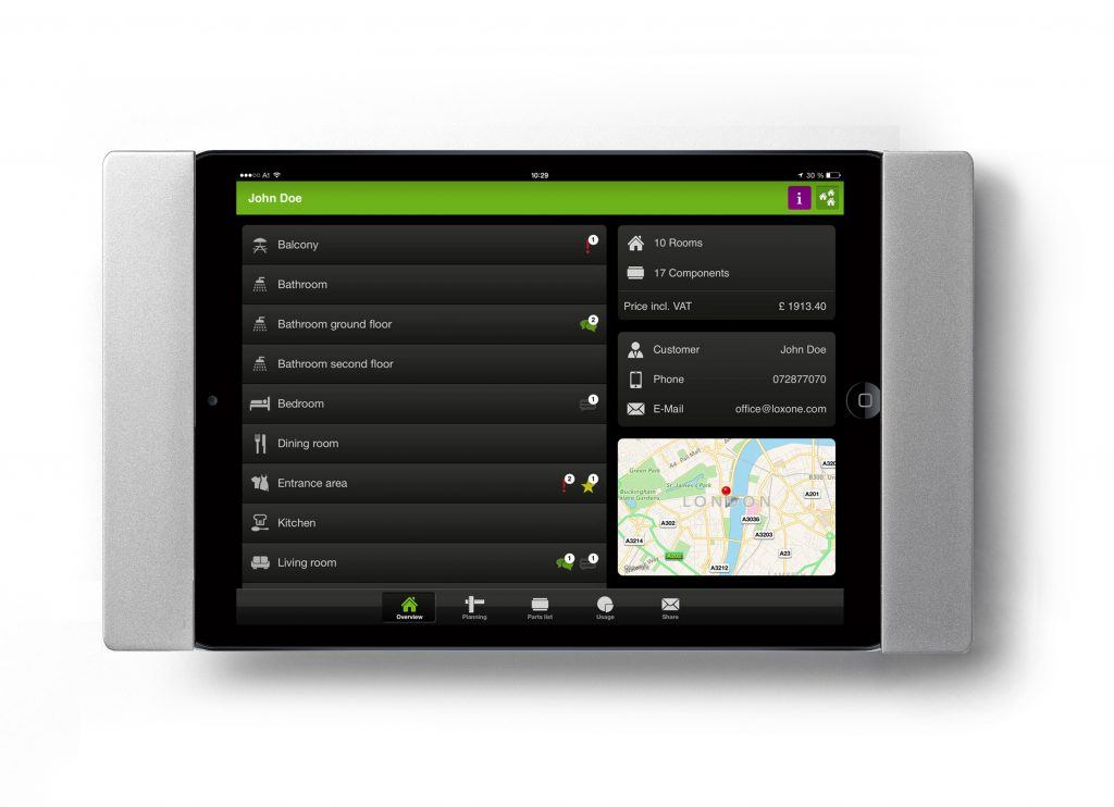 """sDock Air Fix — фиксированное настенное крепление Apple iPad 10"""""""